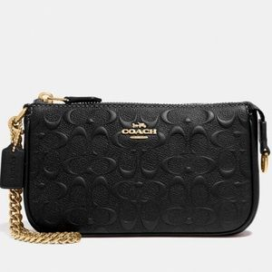 COACH Large Wristlet 19 In Signature Leather